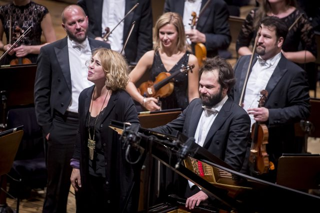 Gabriela Montero and Petr Popelka   Opening concert of the 95th season of PRSO